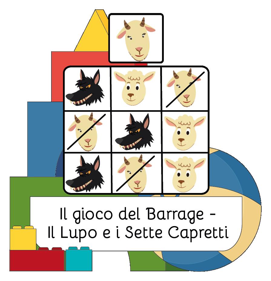Cover Il gioco del Barrage - Il Lupo e i Sette Capretti